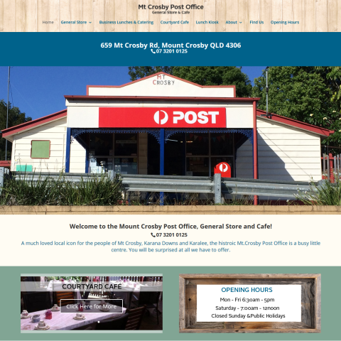 MT Crosby Post Office (NEW)