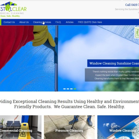 Crystal Clear Commercial Cleaning